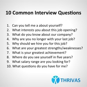 Good Staffing Agency Interview Questions Pertaining To Common Interview Questions